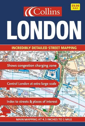 9780007202874: London Street Atlas: Maxi Scale