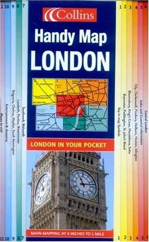 9780007202898: Handy Map London