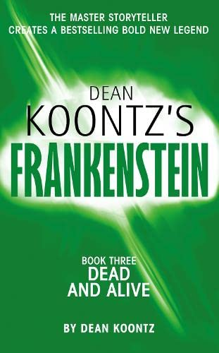 9780007203116: Frankenstein. Book 3: dead and alive