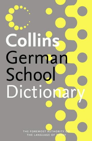 9780007203215: Collins School - Collins German School Dictionary