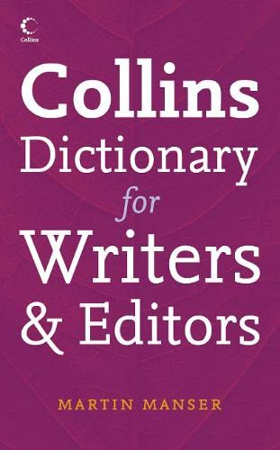 9780007203505: Collins Dictionary for Writers and Editors