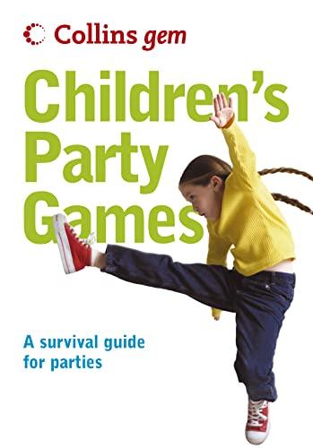 9780007203819: Collins Gem - Children's Party Games