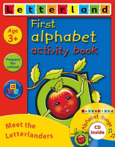 9780007203826: First Alphabet Activity Pack: Activity Book and Songs CD Pack (Letterland Activity Books)