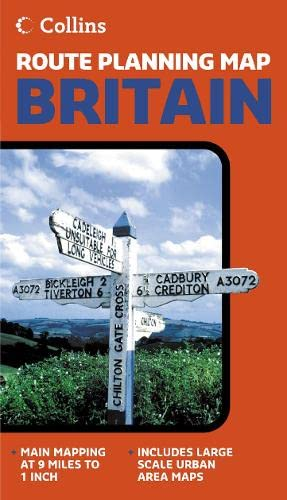 9780007204205: Britain (Route Planning Map)