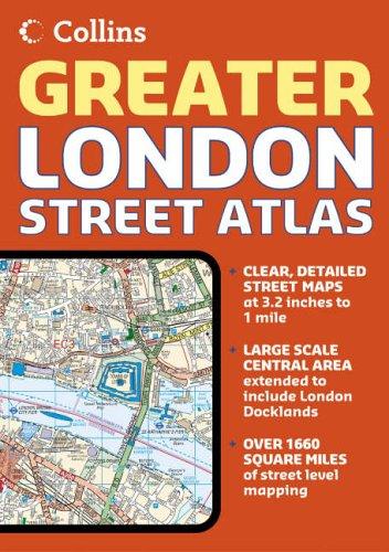 9780007204304: Greater London Street Atlas
