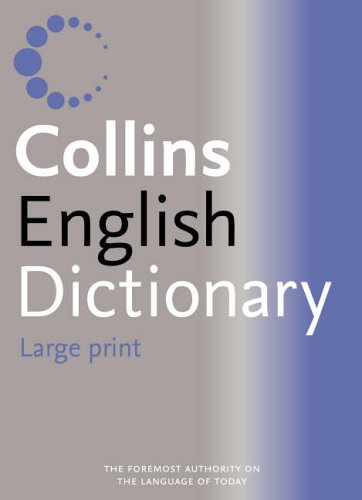 9780007204335: Collins Large Print Dictionary
