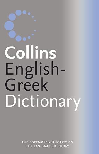 9780007204342: Greek Dictionary (Collins GEM)