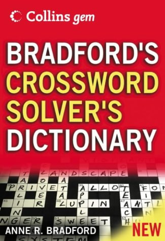 9780007204359: Collins Gem - Bradford's Crossword Solver's Dictionary