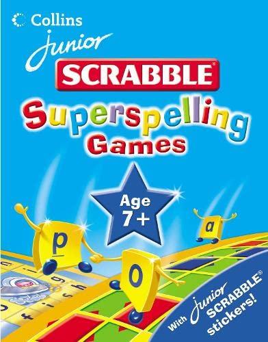 9780007205042: Junior Scrabble - Superspelling Games 7 Plus