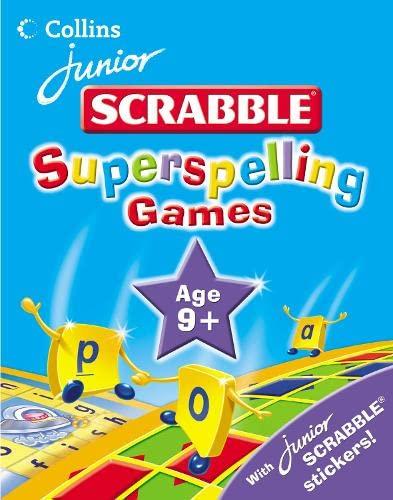 9780007205066: Junior Scrabble – Superspelling Games 9 Plus