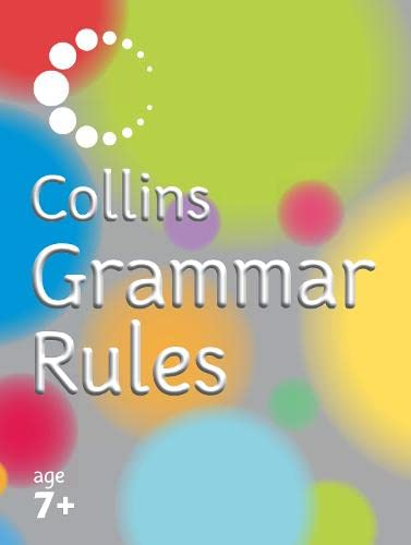 9780007205370: Collins Primary Dictionaries - Collins Grammar Rules