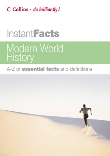 9780007205530: Modern World History (Collins Instant Facts)