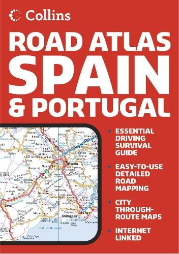 9780007205622: Collins Road Atlas Spain and Portugal