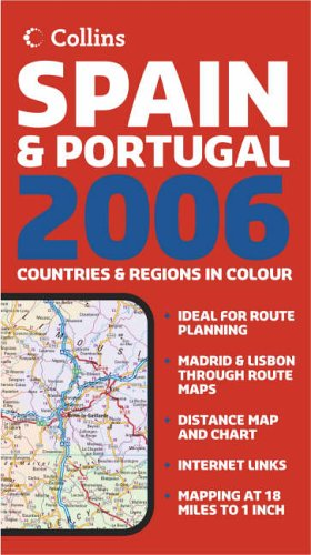 9780007205653: Map of Spain and Portugal 2006