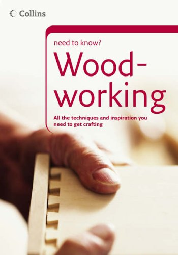 9780007205738: Woodworking (Collins Need to Know?)