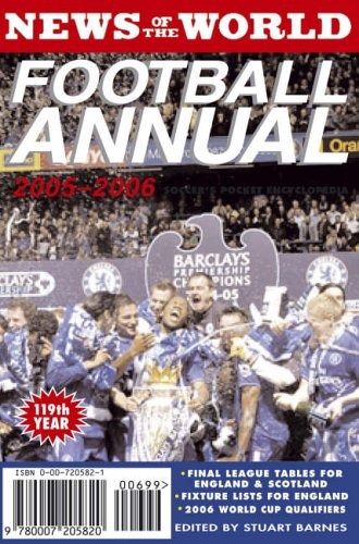 9780007205820: News of the World Football Annual 2005/2006