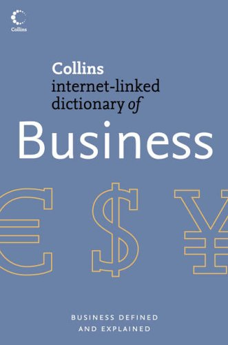 9780007205837: Business (Collins Internet-Linked Dictionary of)