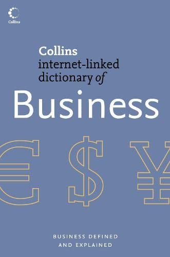 9780007205837: Business (Collins Dictionary of)