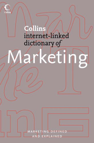 9780007205844: Marketing (Collins Internet-Linked Dictionary of)