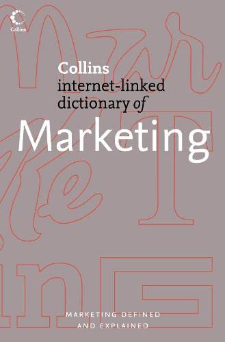 9780007205844: Marketing (Collins Dictionary of)