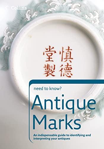 9780007205851: Antique Marks