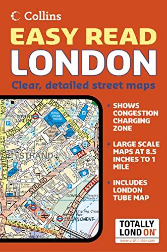 9780007206308: London Easy Read Atlas (Road Atlas)