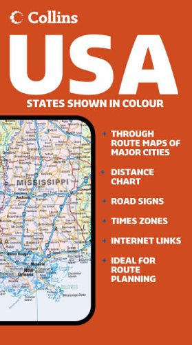 9780007206803: Collins USA Road Map