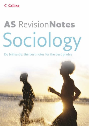 9780007206933: AS Sociology (A-Level Revision Notes)