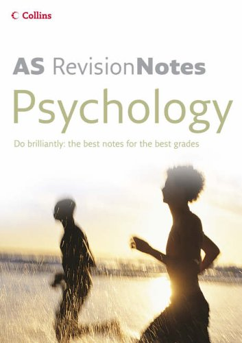 9780007206957: A Level Revision Notes ? AS Psychology