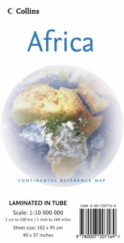 9780007207169: Continental Map - Africa