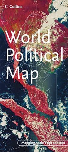 9780007207176: World Political Map (World Map Folded)