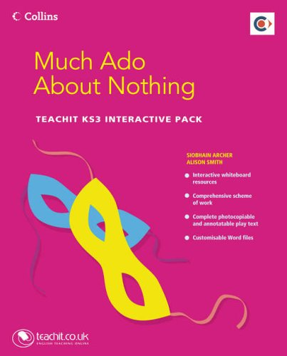 9780007207534: Teachit Shakespeare - Much Ado About Nothing Teachit KS3 Interactive Pack