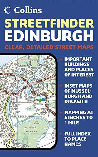 9780007208234: Edinburgh Streetfinder Colour Map