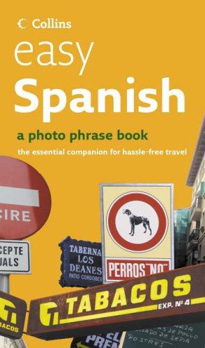 9780007208326: Easy Spanish CD Pack: Photo Phrase Book and Audio CD (Photo Phrase Book & Audio CD)