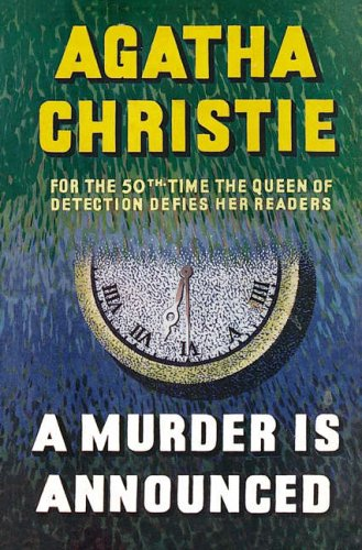 9780007208463: MISS MARPLE - A MURDER IS ANNOUNCED