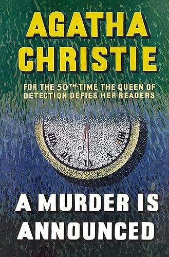 9780007208463: MISS MARPLE - A MURDER IS ANNOUNCED