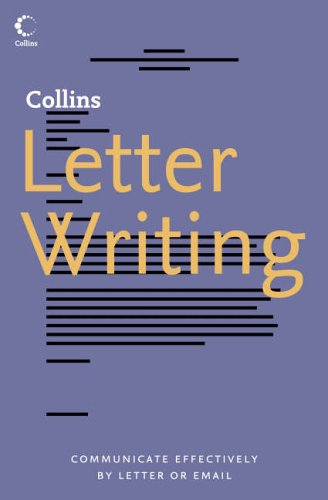 9780007208531: Collins Letter Writing