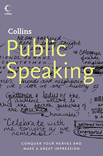 9780007208562: Collins Public Speaking: Conquer Your Nerves and Make a Great Impression (Collins S.)