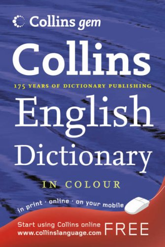9780007208777: Collins Gem - English Dictionary