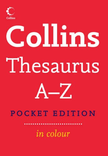 9780007208791: Collins Pocket Thesaurus A-Z