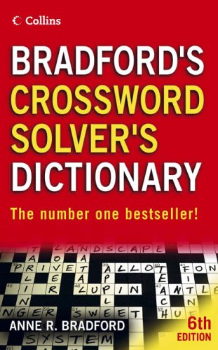 9780007208944: Collins Bradford's Crossword Solver's Dictionary