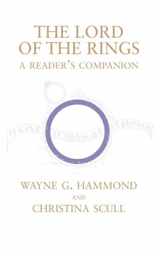 The Lord of the Rings: A Reader's Companion (000720907X) by Wayne G. Hammond; Christina Scull