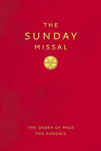 9780007209118: The Sunday Missal: New Standard Red Edition