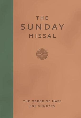 9780007209132: The Sunday Missal (The Order of Mass for Sundays)