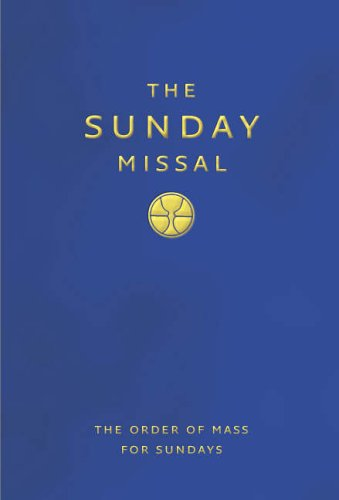 9780007209149: The Sunday Missal: New Standard Blue Edition