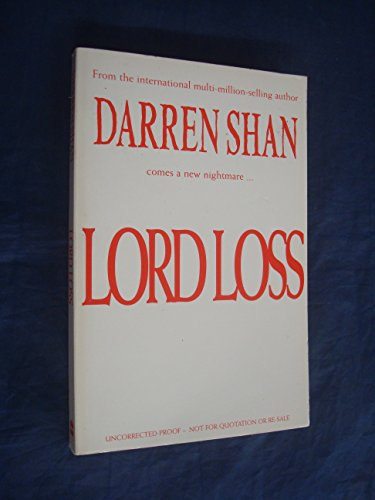 9780007209835: Lord Loss (The Demonata)