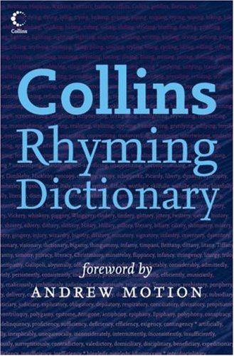 9780007209965: Collins Rhyming Dictionary