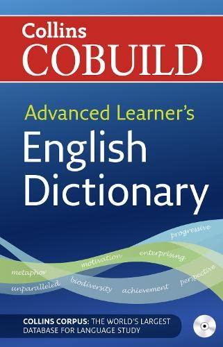 9780007210121: Collins cobuild advanced learner's english dict. Con CD-ROM
