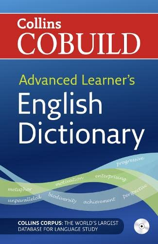 9780007210138: Collins cobuild advanced learner's english dict. Con CD-ROM