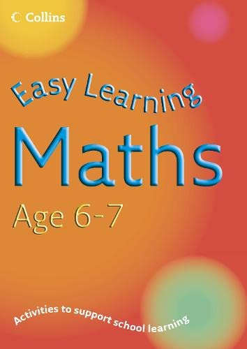 9780007210176: Maths Age 6-7 (Easy Learning)